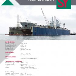 160M Floating Dock